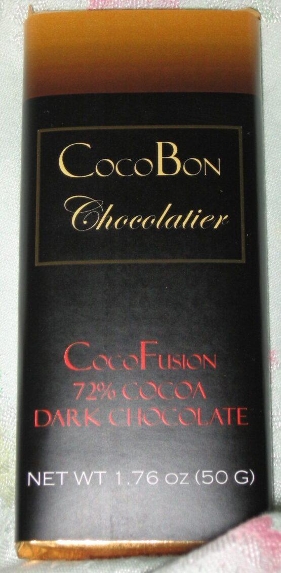72% Dark Chocolate Bar